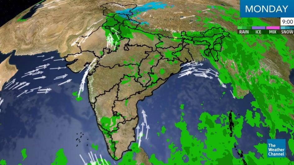 Heavy rain expected across India