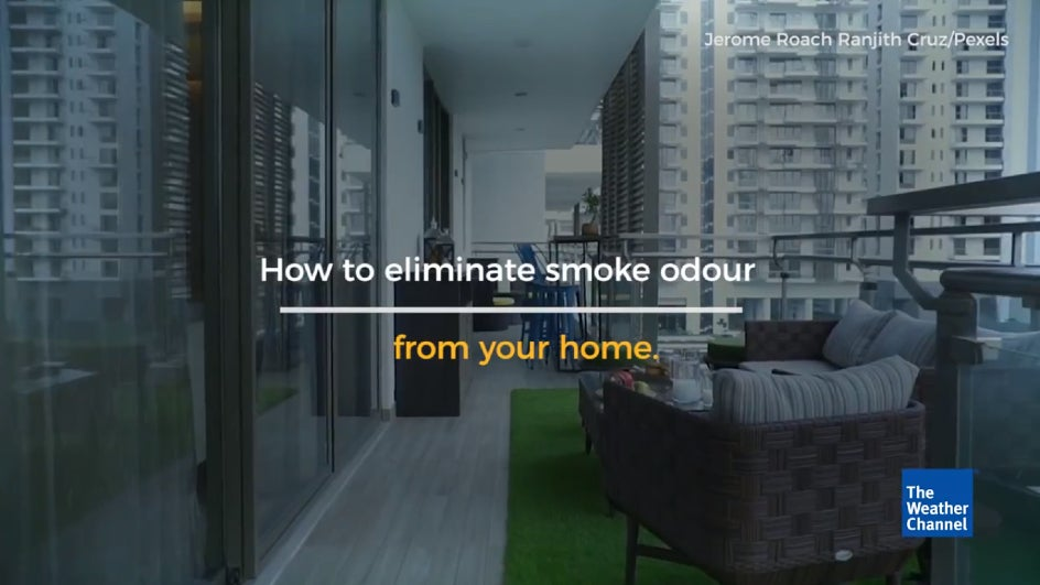 How to Eliminate Smoke Odour from Your Home