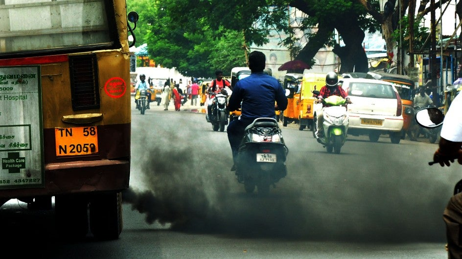 Fearing harsh penalties under the amended act, people are queuing up for Pollution Under Control certificates across India.
