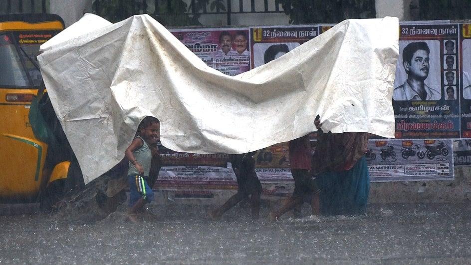 Heavy Rains Forecast In Tamil Nadu; IMD Issues Orange Alert