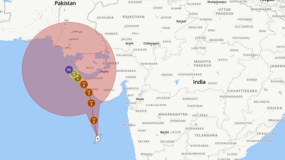 Cyclone Vayu Live Updates: Vayu Moves Away