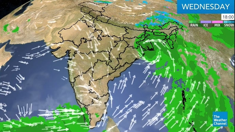 Heavy to Extremely Heavy Rainfall Likely Over Coastal Areas of Maharashtra | The Weather Channel