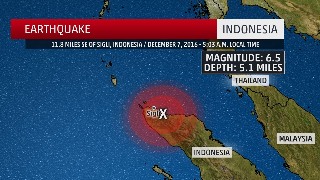 Indonesia Earthquake Death Toll Rises to More Than 100; Frantic Search For Survivors Underway