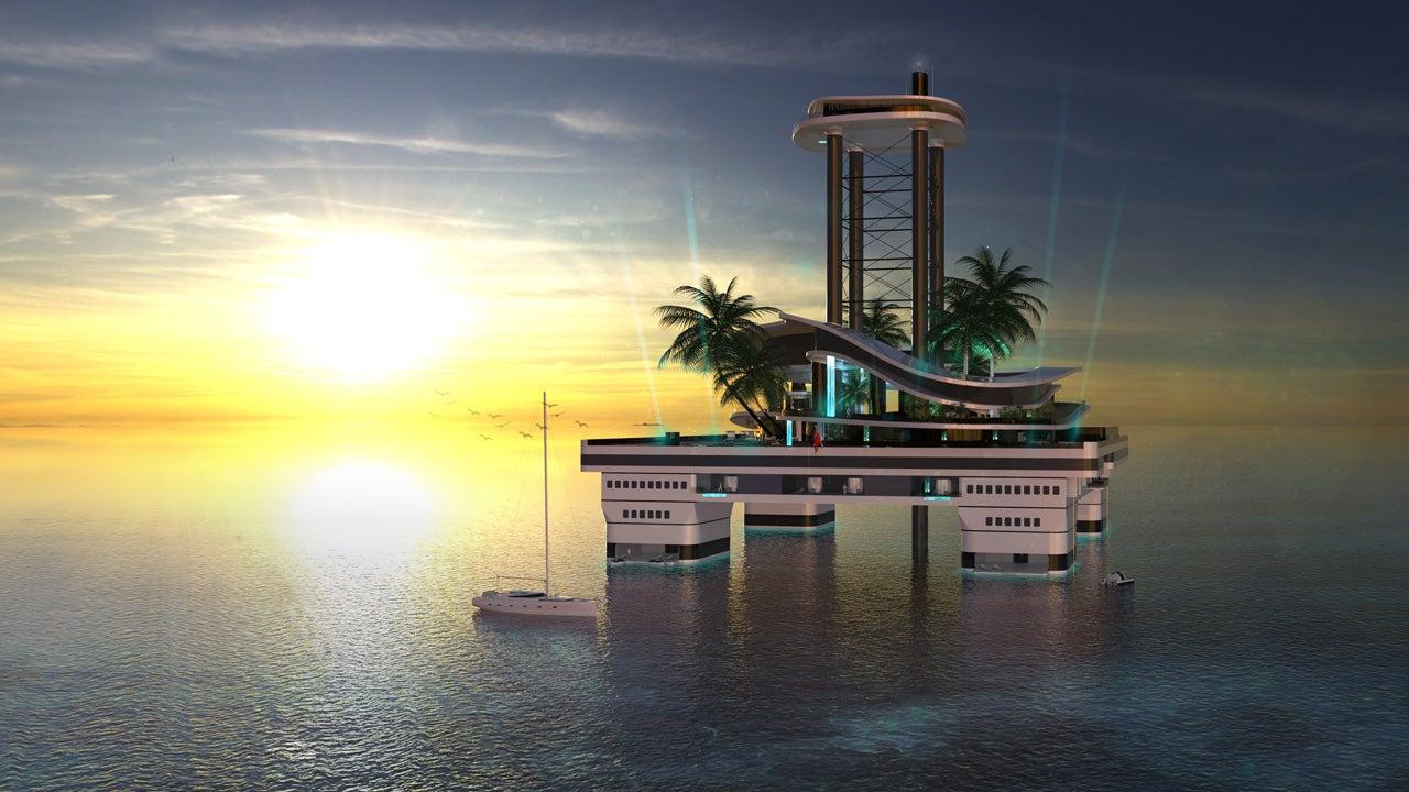 ¿Alguna vez quisiste conducir una isla? Kokomo Island lo hace posible
