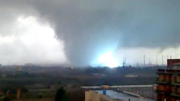 violent tornado strikes italy