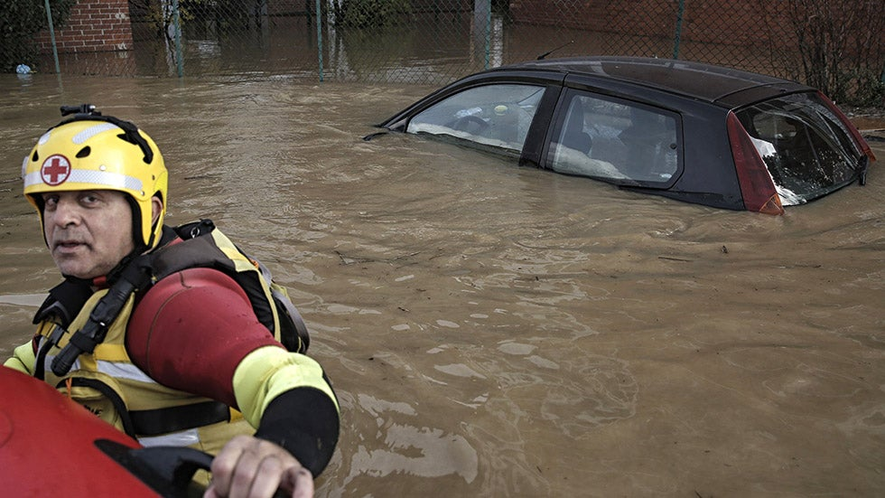 European Floods Turn Deadly