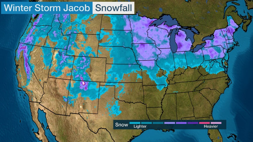 Mid-January Winter Storm Spreads Snow and Ice From West to Midwest and Northeast | The Weather Channel