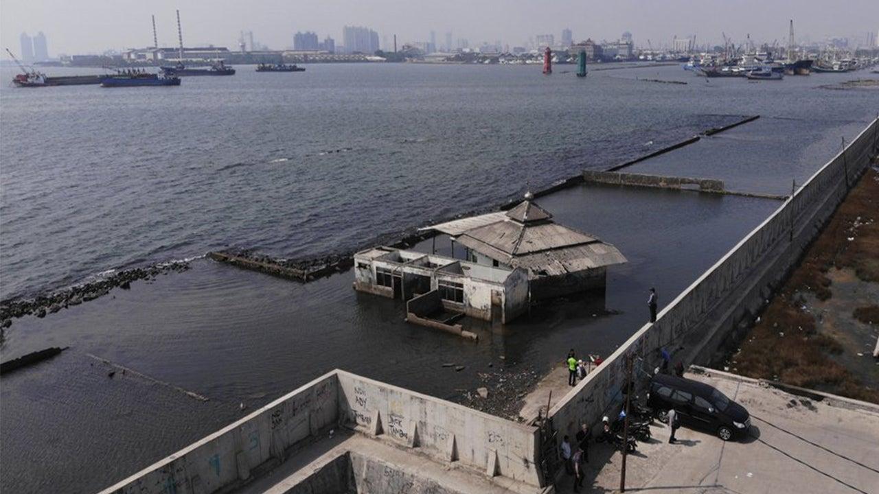 Sinking Jakarta Needs Giant Sea Wall Immediately, Indonesia's President Says