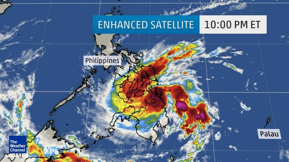 Storm In Philippines Today Video