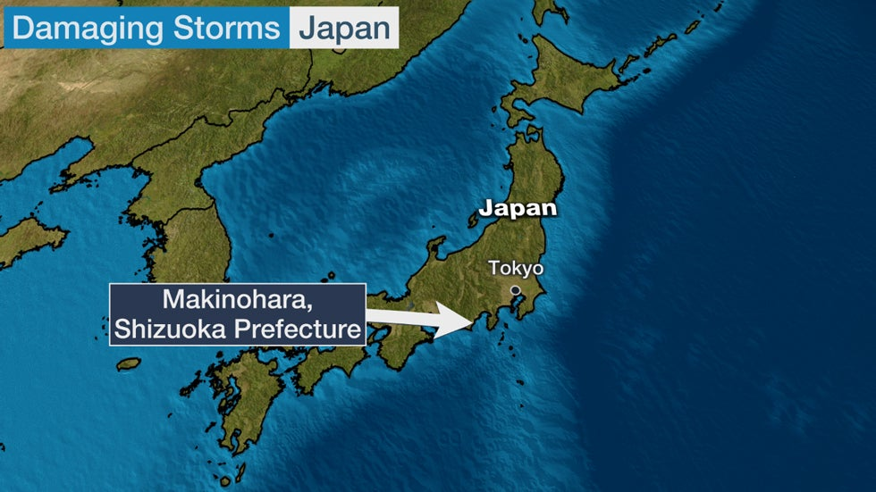 Possible Tornado Rips Through Japanese City; Nearly 100 Buildings Damaged | The Weather Channel - Articles from The Weather Channel | weather.com