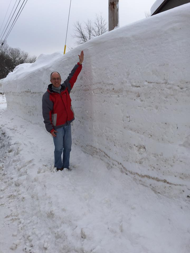 This Is What 6 Feet Of Snow In 4 Days Looks Like Weather