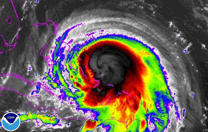 hurricane joaquin remains a category 4 storm  hammers