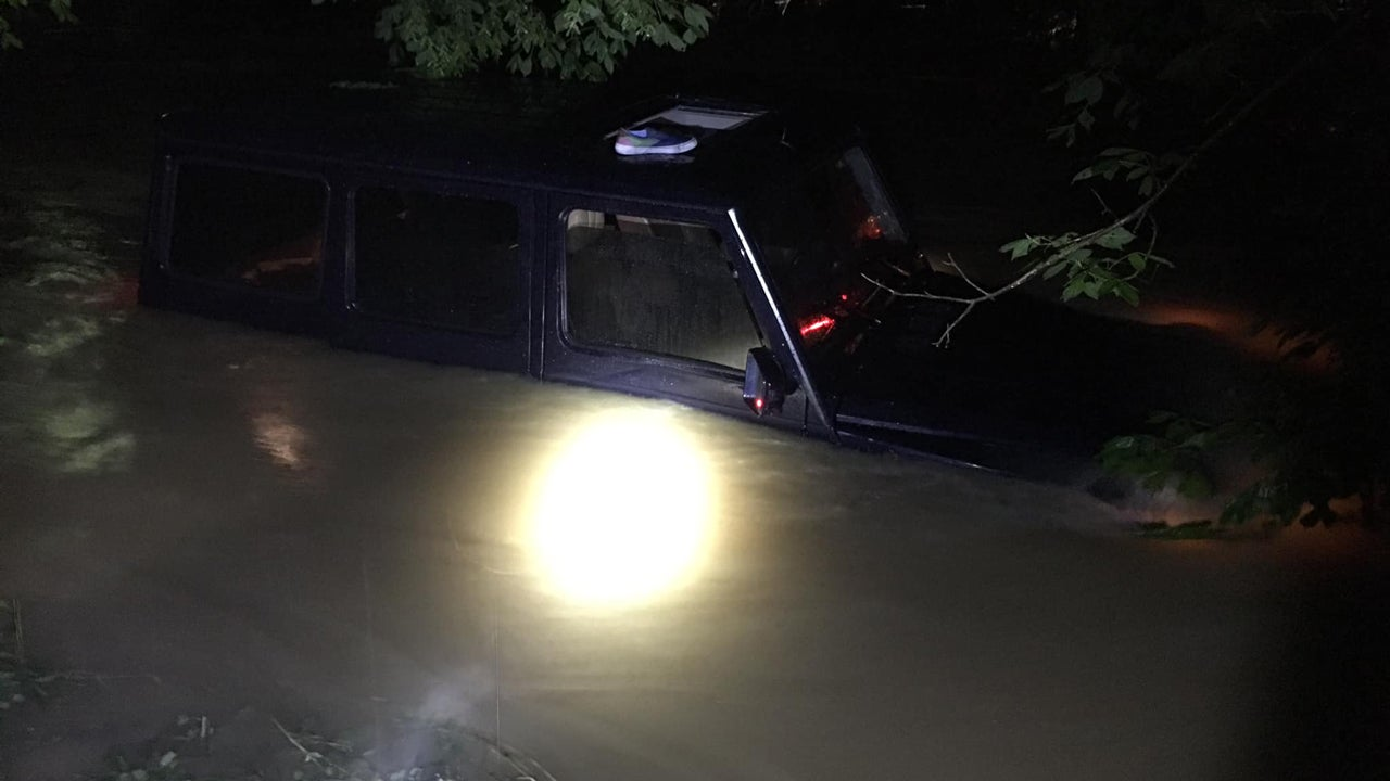 Four People Swept Off Bridge into Flood in Kentucky, Flash Flooding Threatens Cleveland Area