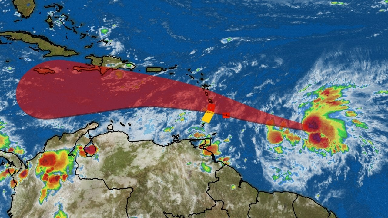 Tropical Storm Kirk is Reborn East of the Lesser Antilles; Tropical Storm Watche...