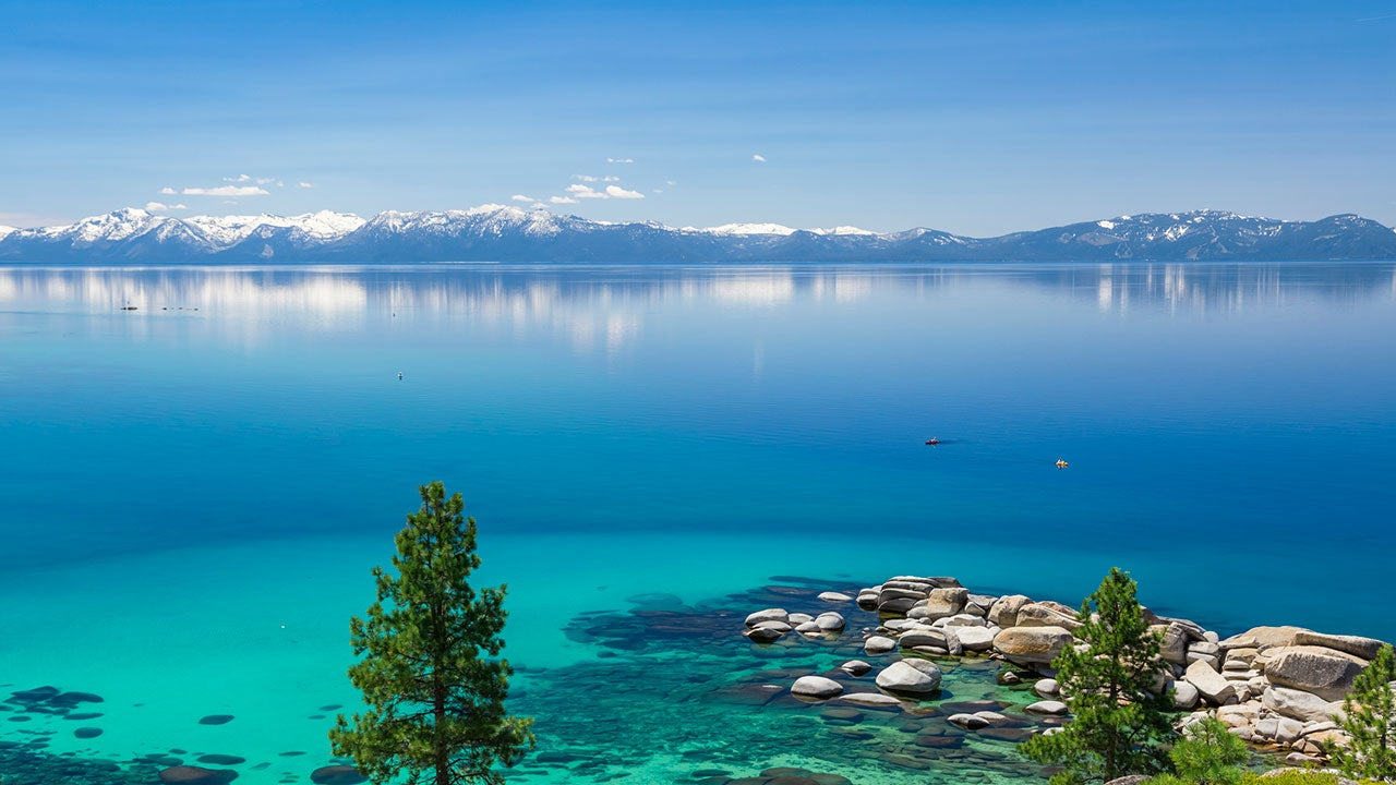 Por primera vez en 11 años, el lago Tahoe está casi lleno
