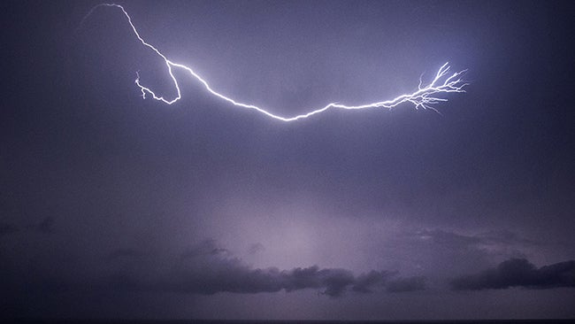 Lightning May Trigger Migraines, Study Finds