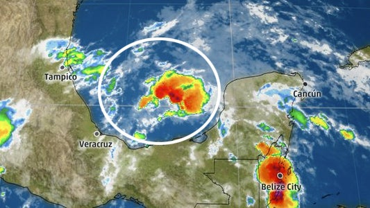 invest 94l emerges into the southwest gulf of mexico