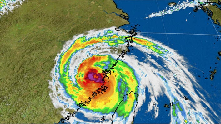 Typhoon Maria Makes Landfall in Eastern China After Scraping Taiwan and Hammering Japan's Southern Ryukyu Islands