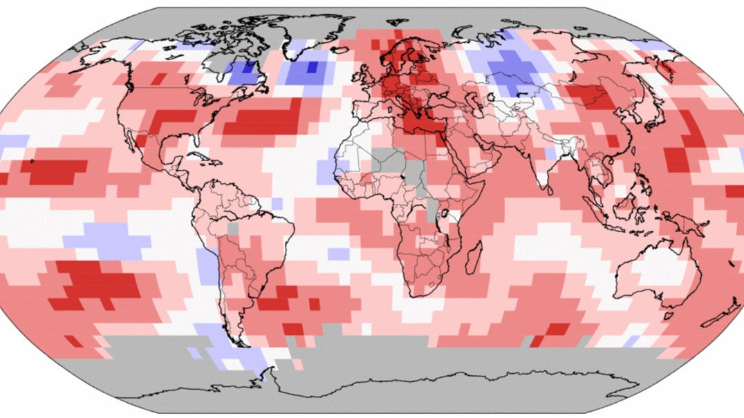 May 2018 Was Earth's Fourth-Warmest May on Record, NOAA Says