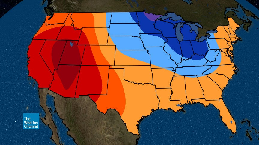 May Temperature Outlook: West Heats Up While Midwest, Great Lakes ...