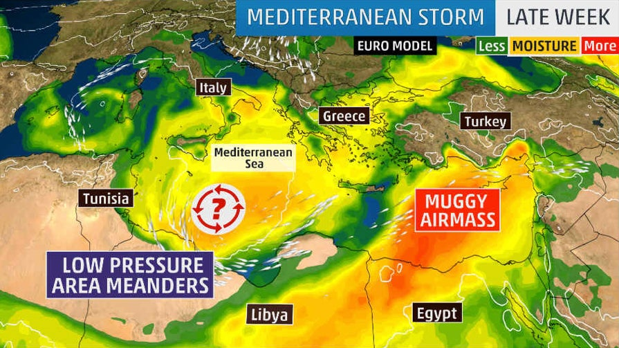 A Medicane is Swirling in the Mediterranean Sea: Here\'s What That ...