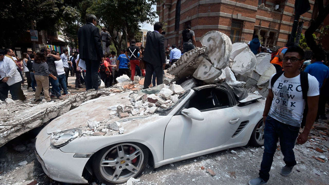 At Least 94 Dead After Magnitude 7.1 Quake Strikes Mexico