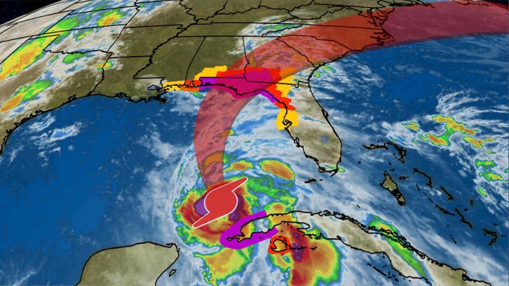hurricane michael forecast to intensify and bring a