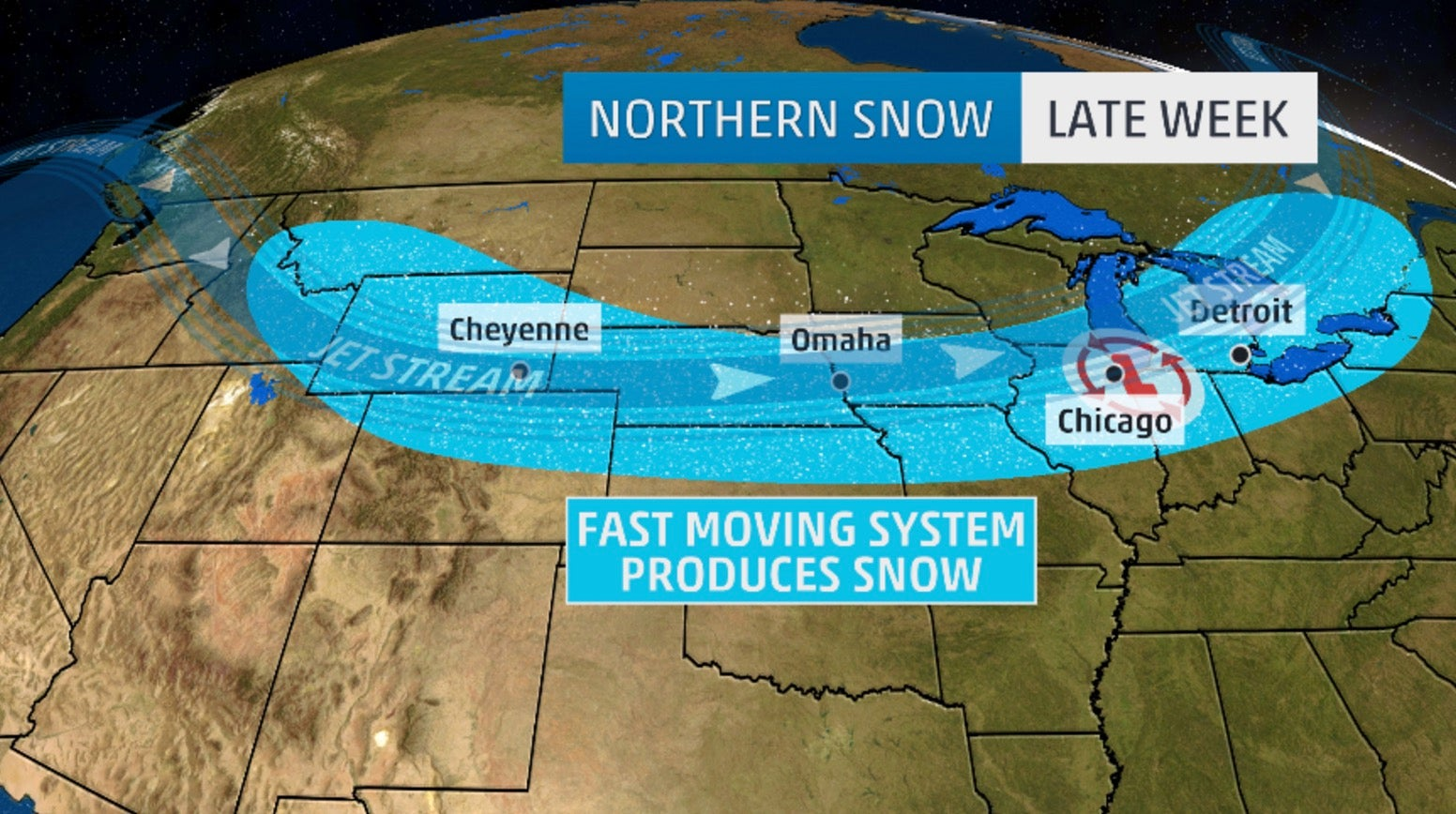 first snow of season ahead in parts of the midwest