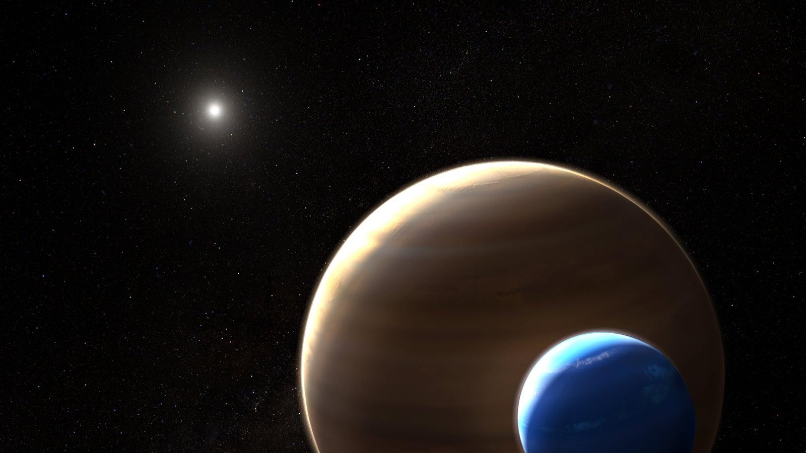 Hinweise auf ersten Mond jenseits unseres Sonnensystems