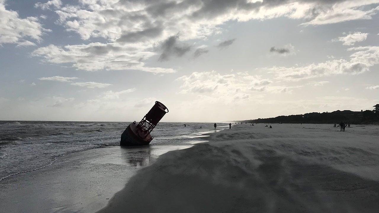 Mystery Buoy Washes Up on Hilton Head Beach
