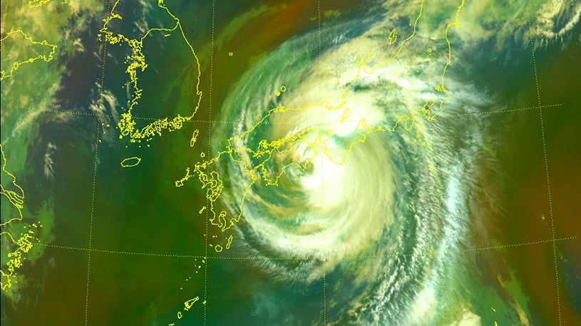 Typhoon Nangka Recap: 29 Inches of Rain Reported