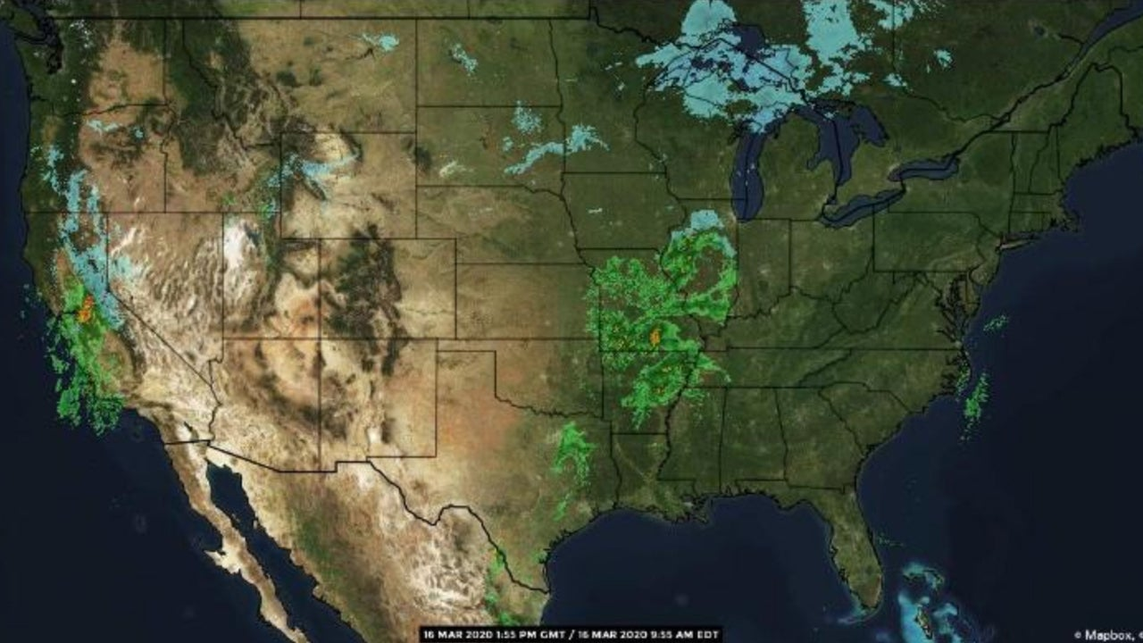 National Forecast and Current Conditions