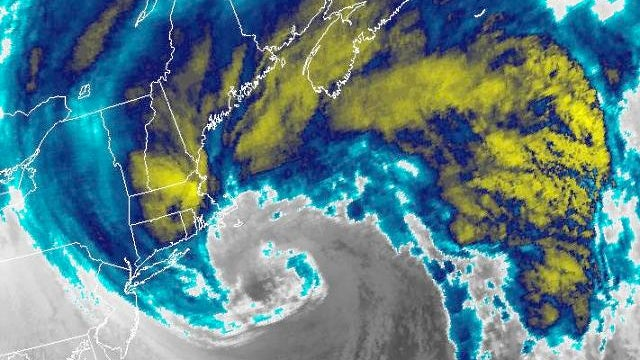 10 Spectacular Meteorological Images of Winter Storm Nemo
