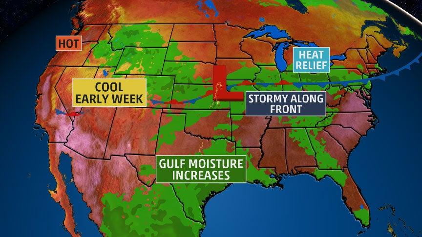 USA National Forecast weathercom