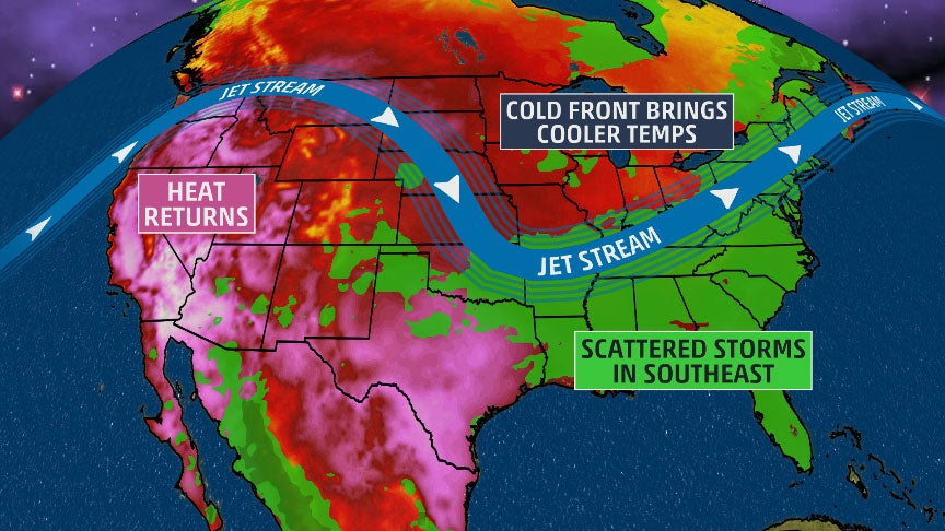 4 Things to Know About This Week's Weather in the U.S.