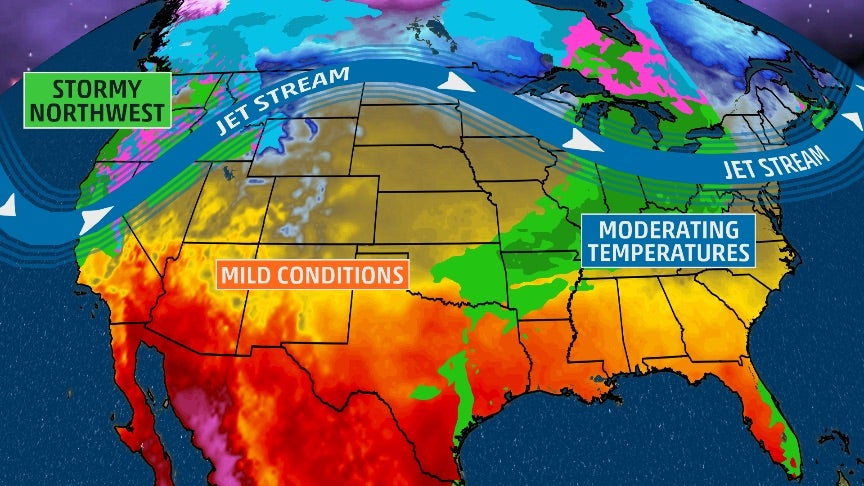 USA National Forecast The Weather Channel - 10 day weather map of western us