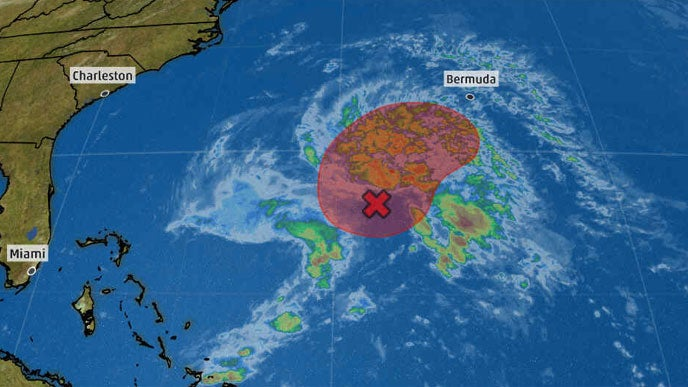 First Atlantic Tropical or Subtropical Depression or Storm of 2019 Could Form South of Bermuda Early This Week