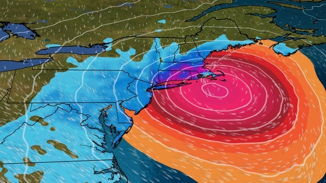 Weekend Nor'easter to Lash Northeast With High Winds, Rain, Snow