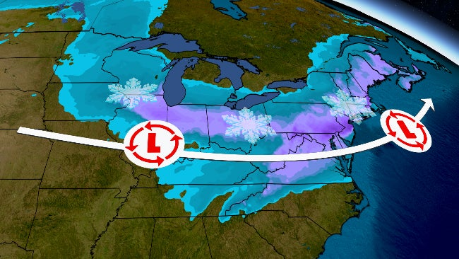 Winter Storm Orlena Will Hammer Midwest, Including Chicago, This Weekend, Then Become a Nor'easter | The Weather Channel - Articles from The Weather Channel | weather.com