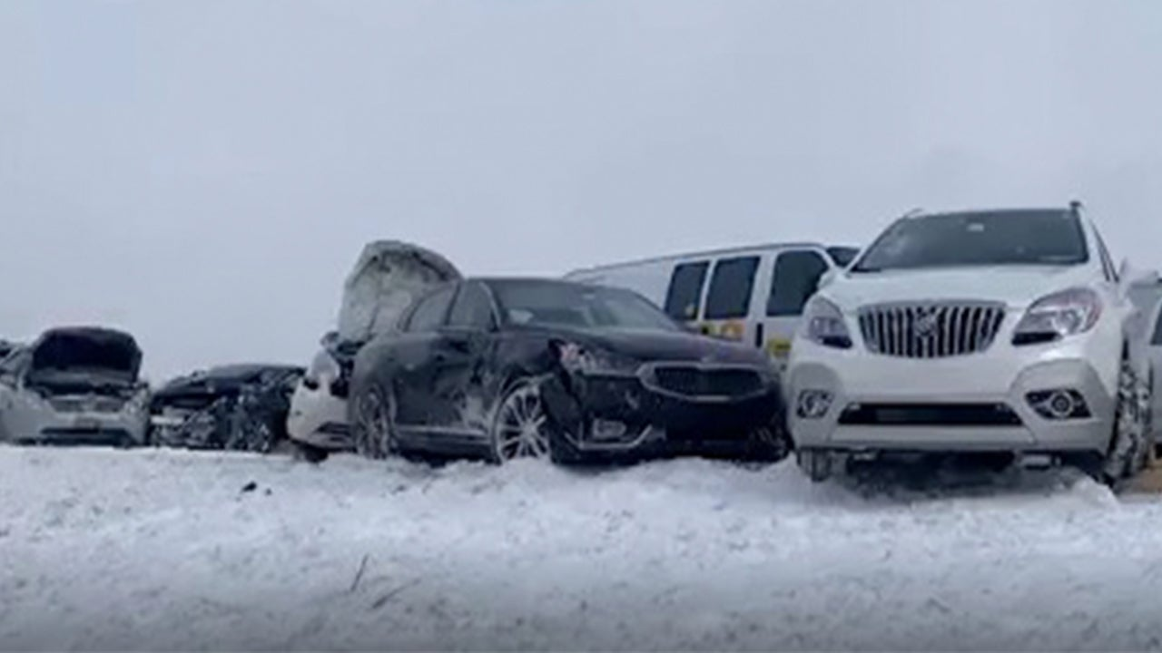 Pennsylvania, New York Snow Squalls Lead to Multi-Vehicle