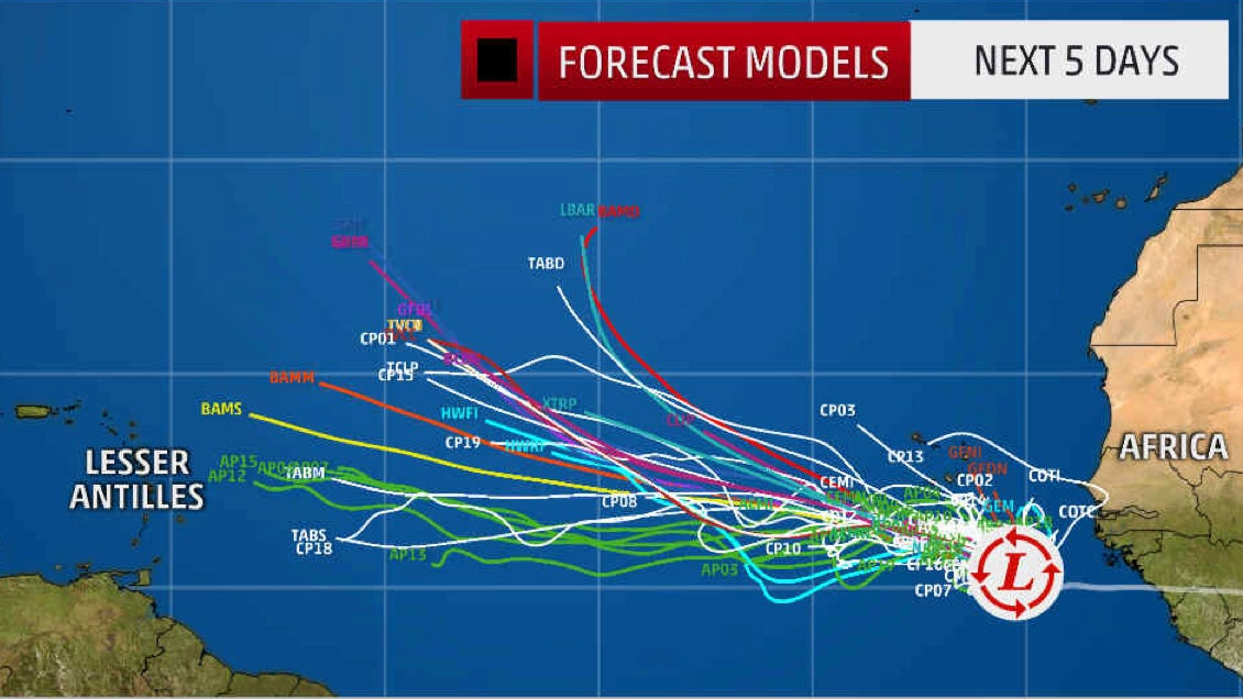 Hurricane Spaghetti Models Four Things You Need To Know To Track