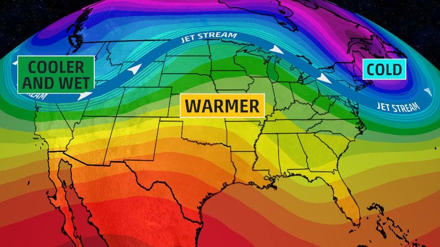 USA National Forecast Weather Enchanting Weather Pattern