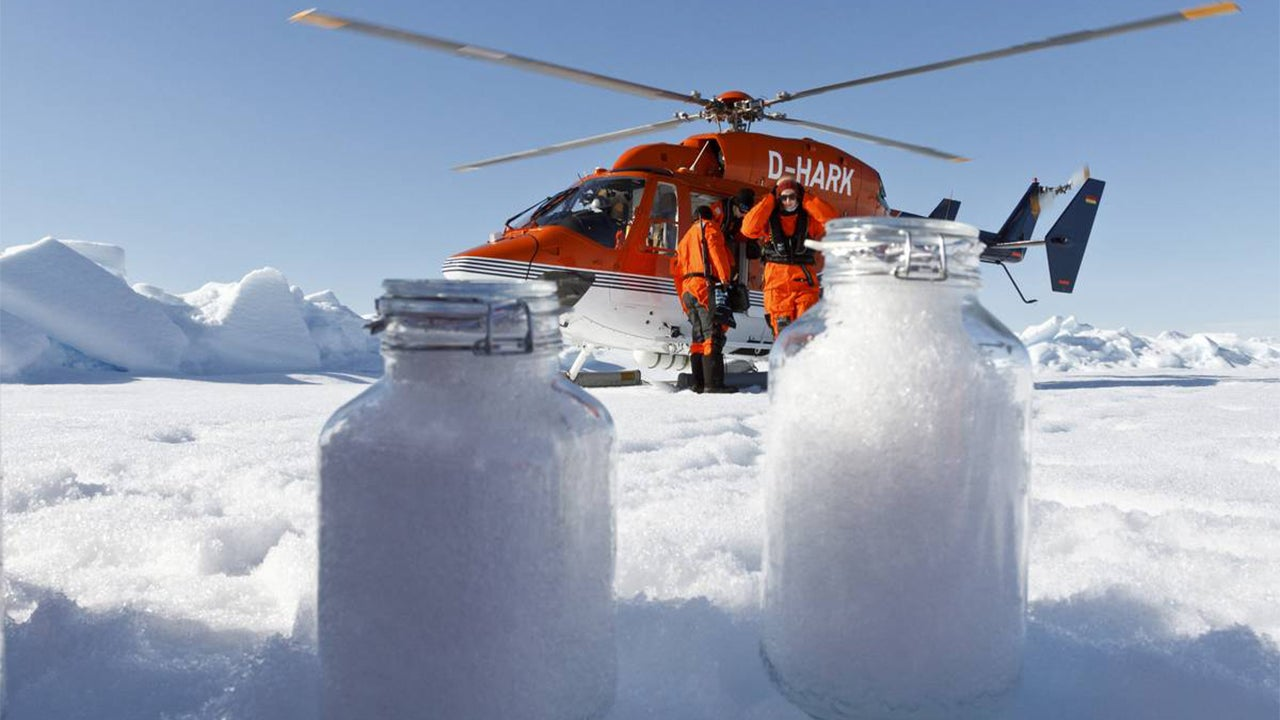 Plastics Found in Rocky Mountain Rain, Arctic and Alps Snow