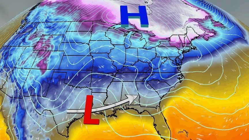late week snowmaker  impacts parts   midwest Cincinnati Weather See This Weekend S Snow Predictions