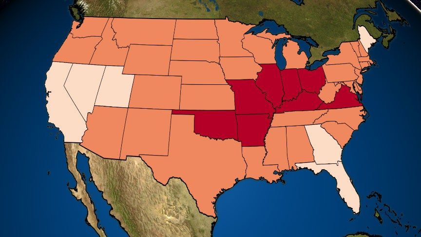 Lower 48 States Just Had the Warmest May on Record
