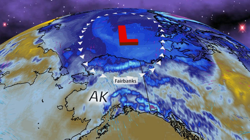 Alaska City Hits Coldest Temperature So Late in the Season in Almost 60 Years