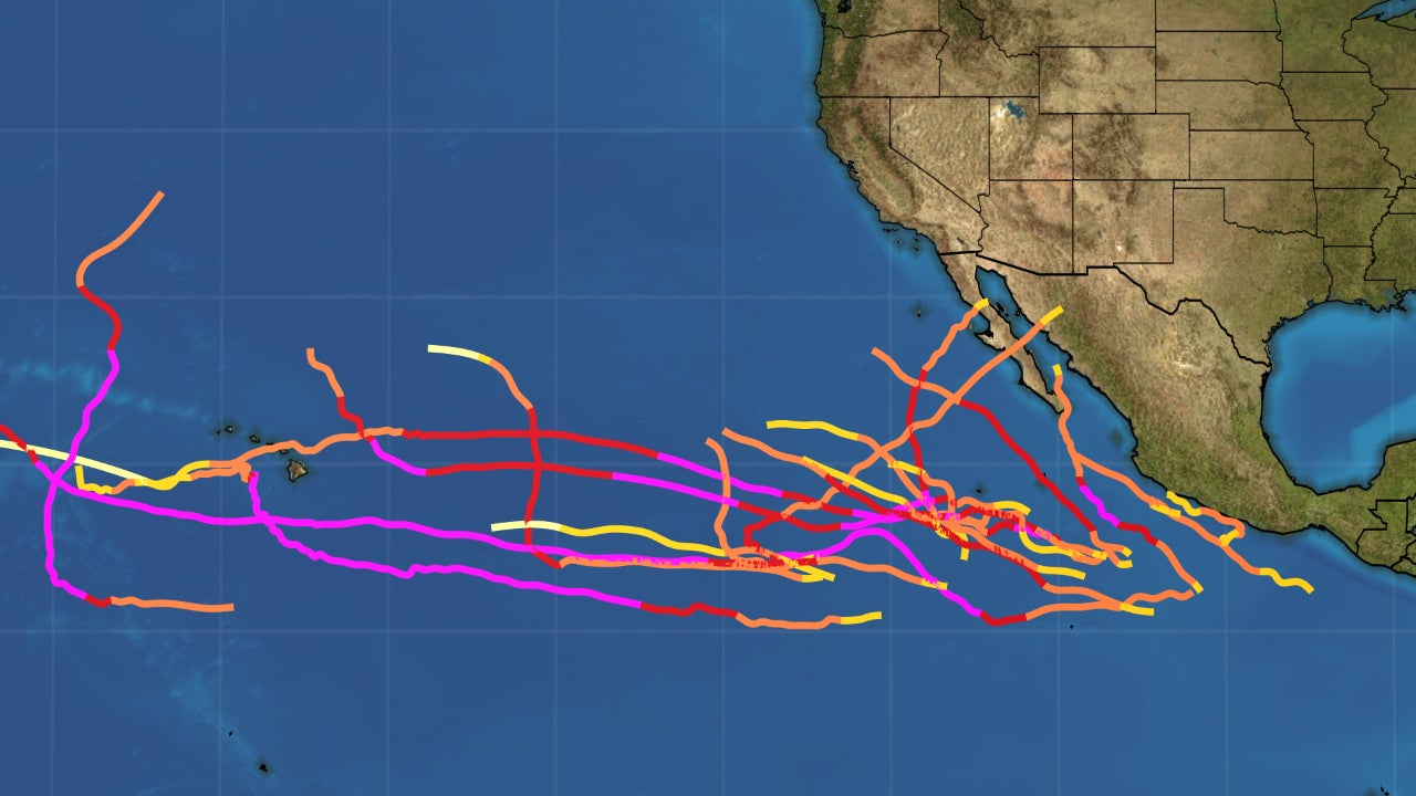 Tropical Storm Xavier Adds to the Most Active Eastern Pacific Hurricane Season on Record