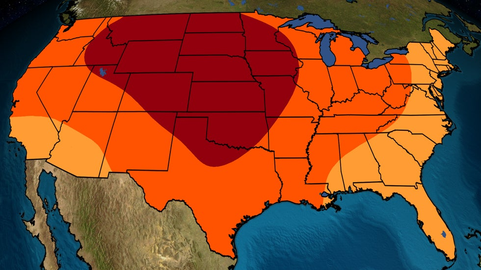 May, Summer Temperature Outlook: Western, Central U.S. Likely to See Hottest Conditions | The Weather Channel - Articles from The Weather Channel | weather.com