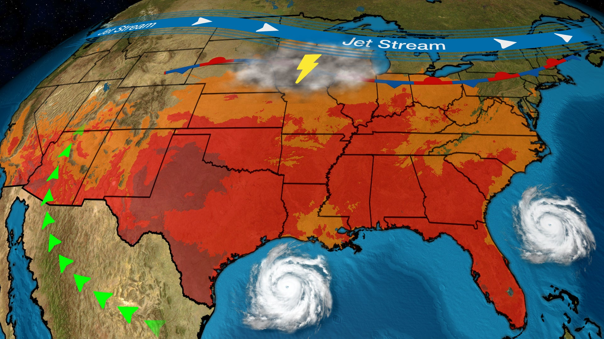 We're Heading Into Prime Time for Flash Flooding in the U.S.