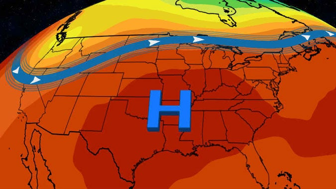 Pattern Change Bringing Hot Temperatures Back Into the Central and Eastern States as Northwest Sees Wildfire, Smoke Relief